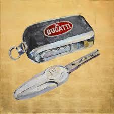 buy original acrylic art deco car art drawing painting