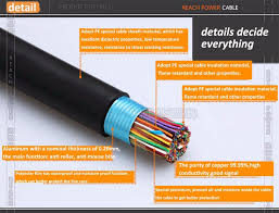 professional cat3 color code for lan cable with low price and high