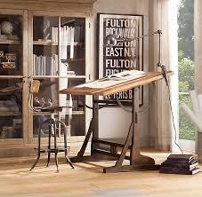 bureau table dessin planche de bureau alsia trteau de bureau universel en mtal noir