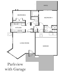 Parkview Floor Plan Parkview Villas Moosehaven