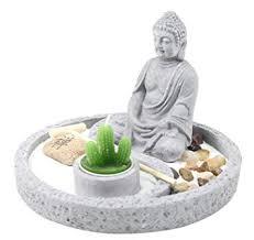 Tabletop Rock Garden Tabletop Buddha Zen Garden Rock Rake Sand Cactus