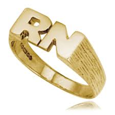 rings with initials initials ring 9ct yellow gold hallmarked personalised