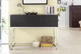 modern console tables with drawers amazon com iohomes mia 4 drawer modern console sofa table black