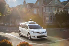 self driving chrysler pacifica hybrids almost ready for public