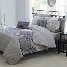 Purple And Gray Comforter Purple Quilts U0026 Coverlets Bedding Bed U0026 Bath Kohl U0027s