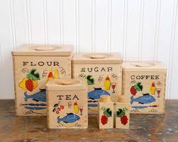 wooden kitchen canister sets vintage wooden kitchen canister set nesting canister set