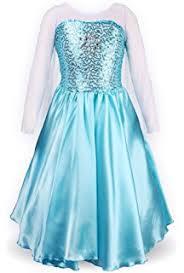 Elsa Costume Amazon Com Disney U0027s Frozen Elsa Deluxe U0027s Costume 4 6x Toys
