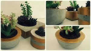 blumentopf aus beton diy concrete planter eng sub youtube