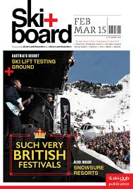 ski board december 2015 january 2016 by ski club of great britain