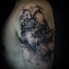 12 best epic world map tattoos and tattoo ideas for men and women