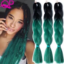 ombre kanekalon braiding hair aliexpress buy two tone ombre kanekalon braiding hair black ombre
