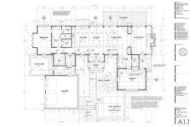 construction plans a1 1 level plan r construction drawings