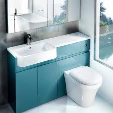 downstairs bathroom ideas aqua cabinets d300 quattrocast basins ukbathrooms 화장실