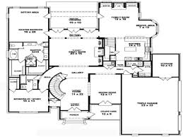 Four Bedroom House Floor Plans by Bedroom Loft 4 Bedroom 2 Story House Floor Plans 4 Level House