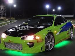 mitsubishi eclipse fast and furious 1999 mitsubishi eclipse fast and furious clone replica paul walker