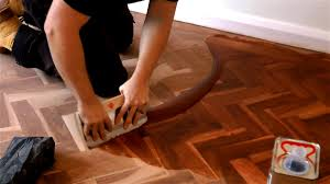 how to fill a wooden floor youtube