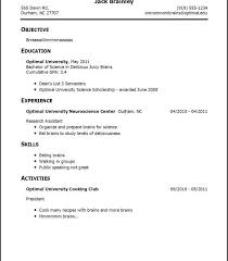 Resume Templates First Job First Time Resume Examples First Time Resume Templates First Job