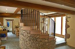 barn conversions great barn interior english cottages barn conversions