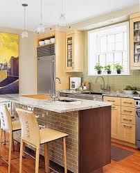 Narrow Kitchen Design With Island 111 Best Small Apartment Kitchen Images On Pinterest Kitchen