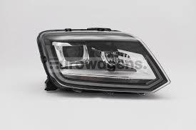 nissan almera xenon lights headlight right black bi xenon led drl vw amarok 14 16
