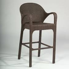 Swivel Bar Stool With Arms Wicker Bar Stools With Armrattan Stool With Back And Arm Using