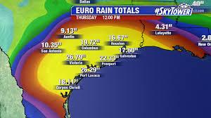 Rainfall Totals Map Tyler Eliasen Myfoxhurricane Blog Page 2