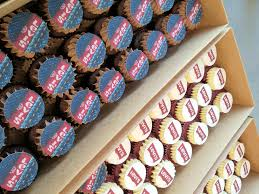 personalised cupcakes corporate custom and promotional cupcakes cupcake central