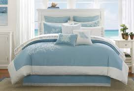Beach Theme Quilt Blue Bedding Ideas Zamp Co