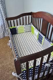 Grey And Green Crib Bedding Baby Boy Crib Bedding Set Green Gray Navy Blue Nursery Polka