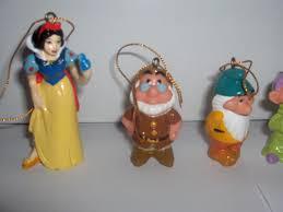 disney snow white and the seven dwarfs ornament set ship