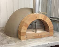 Backyard Pizza Oven Kit by Calabrese Entertainer Precast Diy Refractory Woodfired Pizza Oven Kit