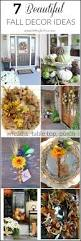 Fall Decorating Projects - 7 beautiful early fall decorating ideas setting for four
