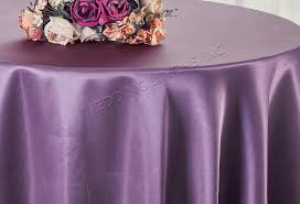 pink round table covers wisteria 120 inch satin tablecloths table covers sale