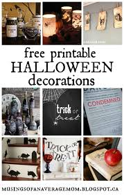free printable halloween decorations musings of an average mom september 2015