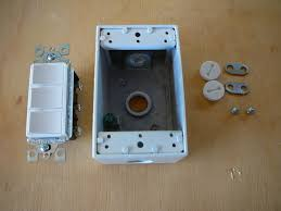 outside light timer switch exterior light switch box wiring diagram