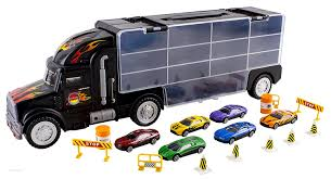 amazon com wolvol transport car carrier truck toy for boys