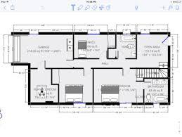 straight floor plan floorplan layout advice needed for basement addition