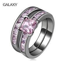 Purple Wedding Rings by Online Get Cheap Purple Wedding Ring Sets Aliexpress Com