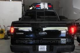 Vintage Ford Truck Tail Lights - 2004 2008 f150 recon led tail lights smoked 264178bk