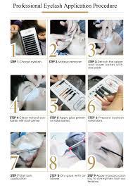 Professional Eyelash Extension Lashview 07 15 20 25mm All Size Individual Eyelash