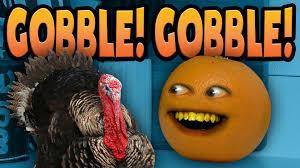 annoying orange gobble gobble