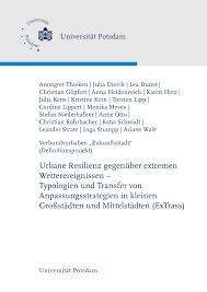 PDF Urbane Resilienz gegenüber extremen Wetterereignissen
