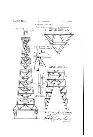 patent us2237965 structural steel tower google patents