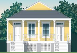 New Orleans Floor Plans Large Shotgun House Plans Beat The Heat If You Want A Cool House