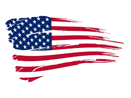 Ripped American Flag Tattoo American Flag Black And White Clipart