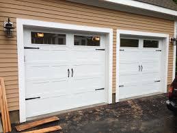 Overhead Door Windows C H I Overhead Doors Model 5216 Steel Carriage House Style Garage