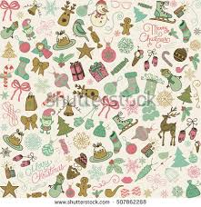 free christmas vector palette download free vector art stock