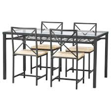 Dining Table Glass Top Online Rectangle Black Wrought Iron Table With Glass Top Combined With