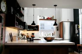 Loft Kitchen Ideas Kitchen Design Kitchen With Industrial Pendant Lights
