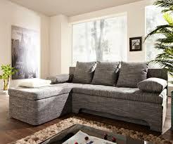 ecksofa mit ottomane couch juline grau 200x155 mit schlaffunktion ottomane variabel